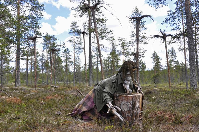 Trollkjerringa Photoshopped (Foto/Photo)