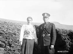 Bildet viser lensmann i Rendalen, 1919-1945, Sæmund Lombnæs