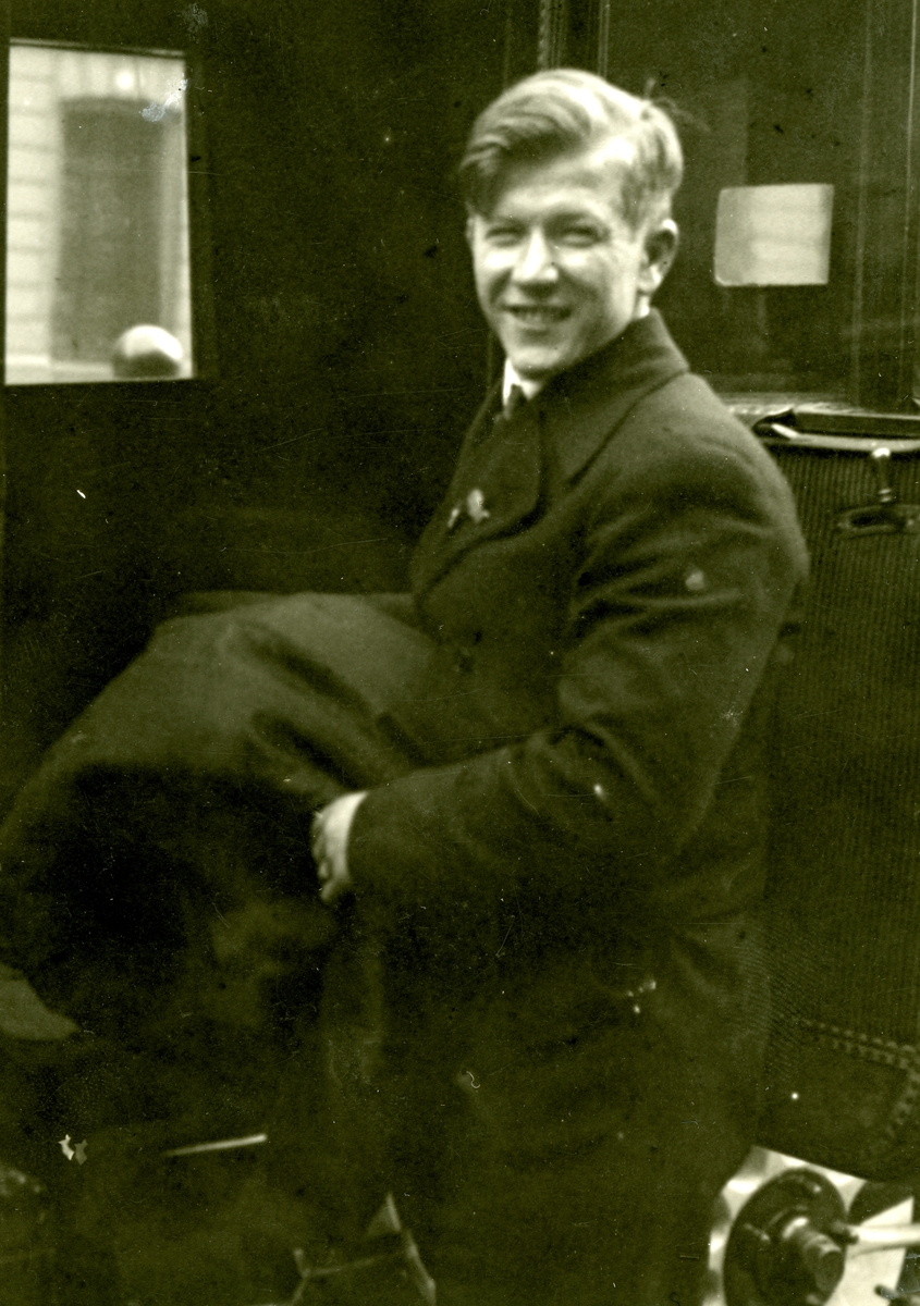 A young Birger Ruud