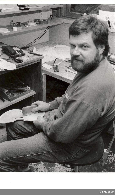 Olav Vindal, Hardanger