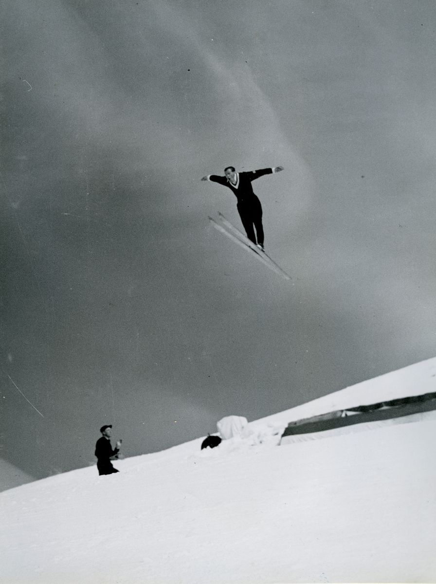 Kongsberg skier Arne Ulland in Sun Valley