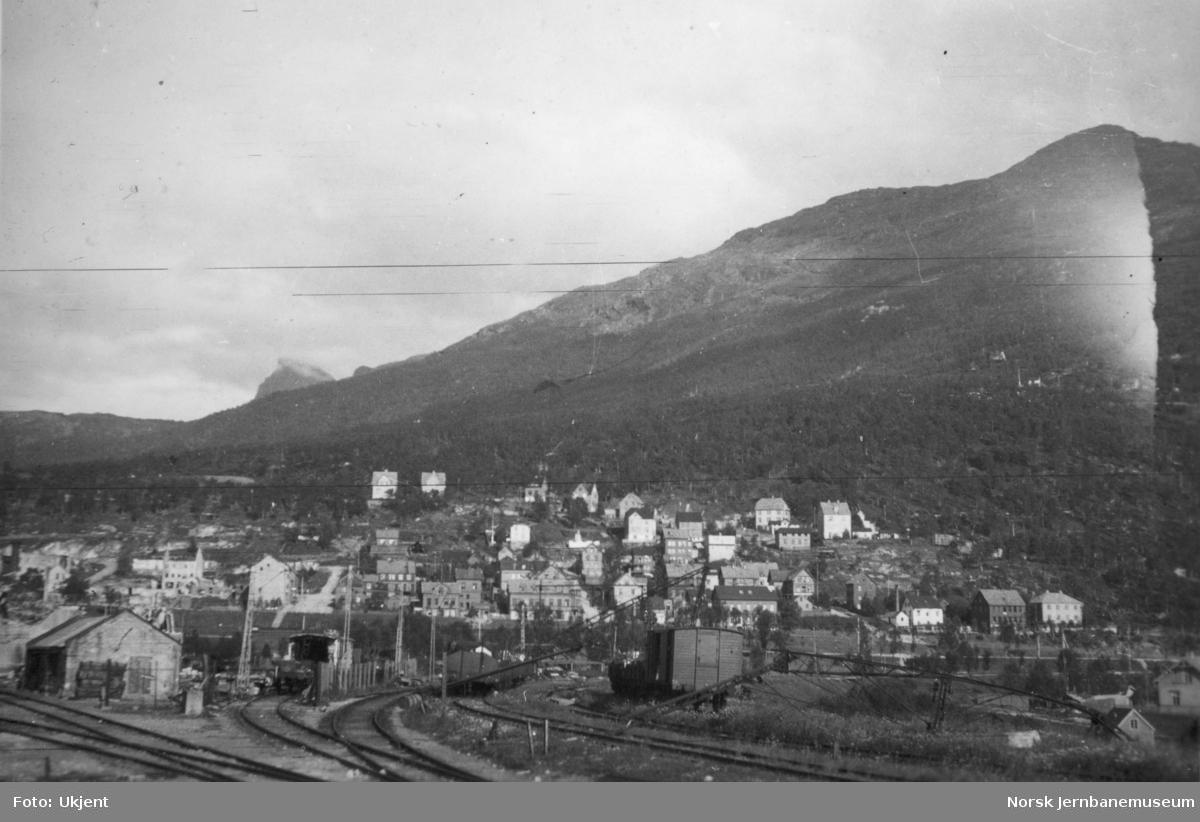 Malmbanegården i Narvik