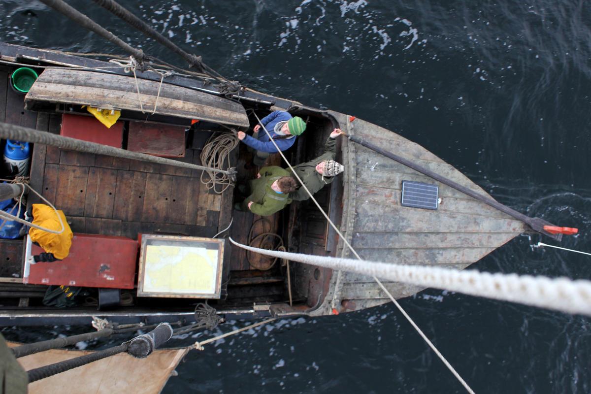 En romslig og god turbåt.  Fra seilkurs på Museet Kystens Arv. (Foto/Photo)