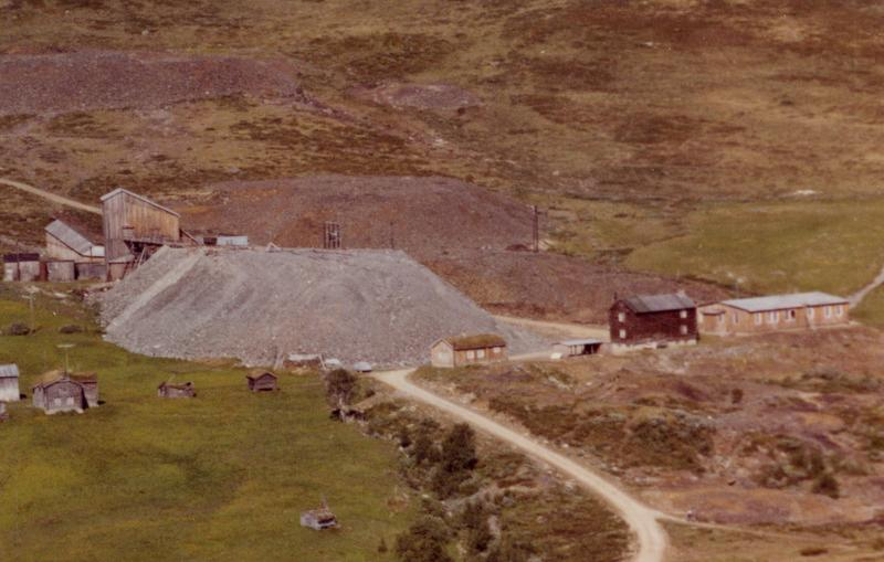 Olavsgruveområdet i 1963 (Foto/Photo)