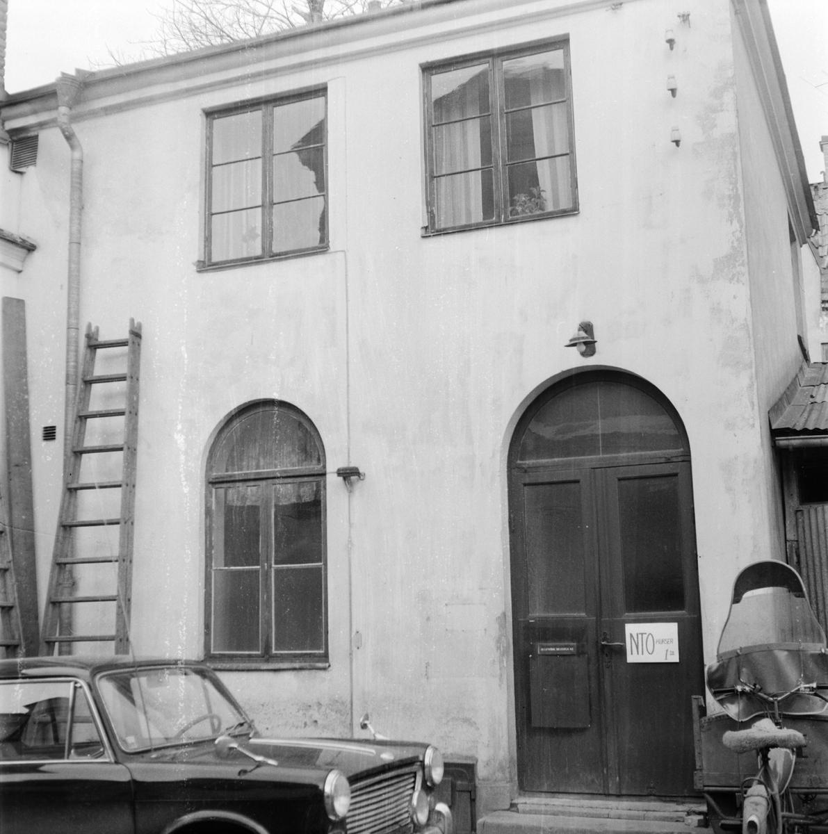 NTO-tomten, kvarteret Hamder, Uppsala 1968