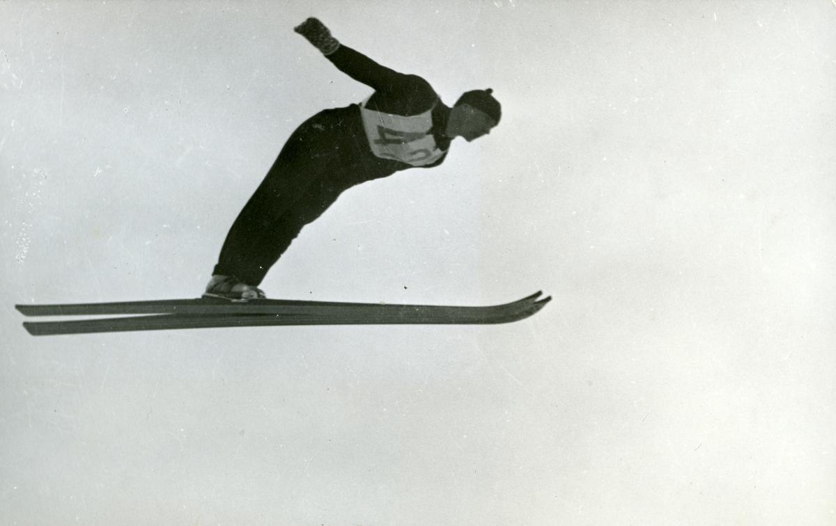 Norwegian athlete during OG at Garmisch