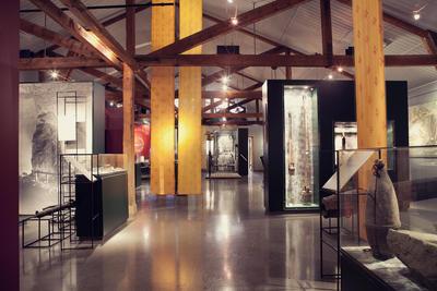 På Informasjonssenteret er Bergverksutstillingen en del av de faste utstillingene på Orkla Industrimuseum.. Foto/Photo
