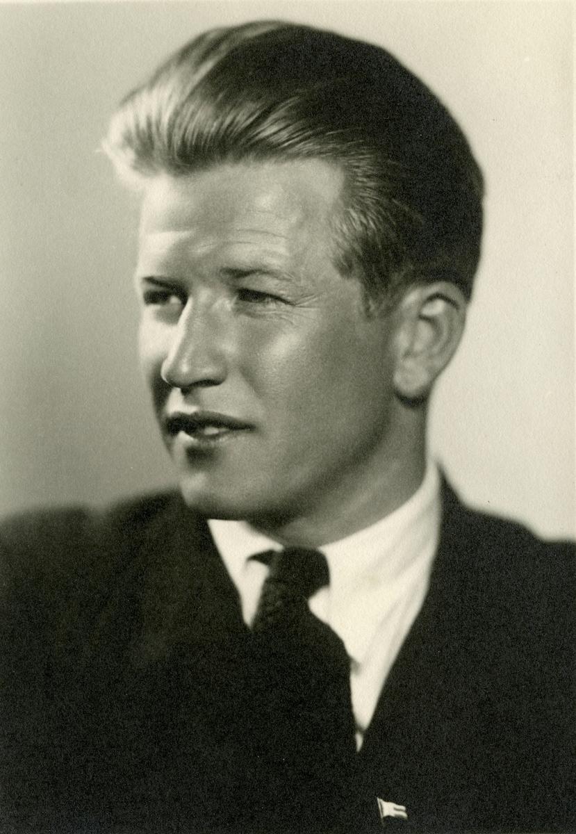 Portrait of Birger Ruud