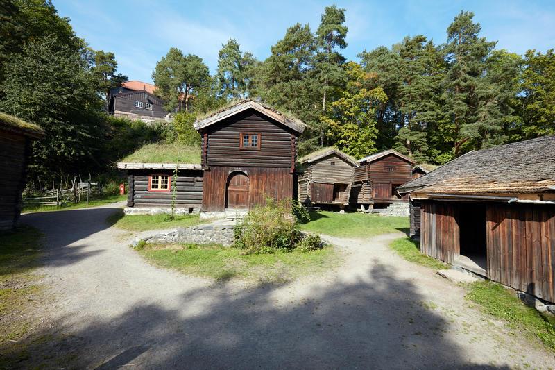 Østardalstunet på Norsk Folkemuseum