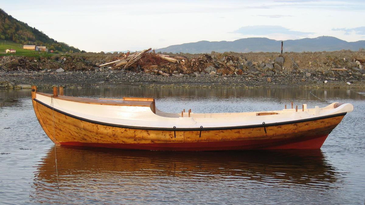 Snøsgaveln, bygd 2005. (Foto/Photo)