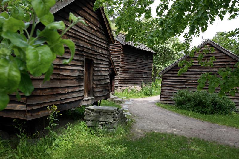 Hardangertunet på Norsk Folkemuseum