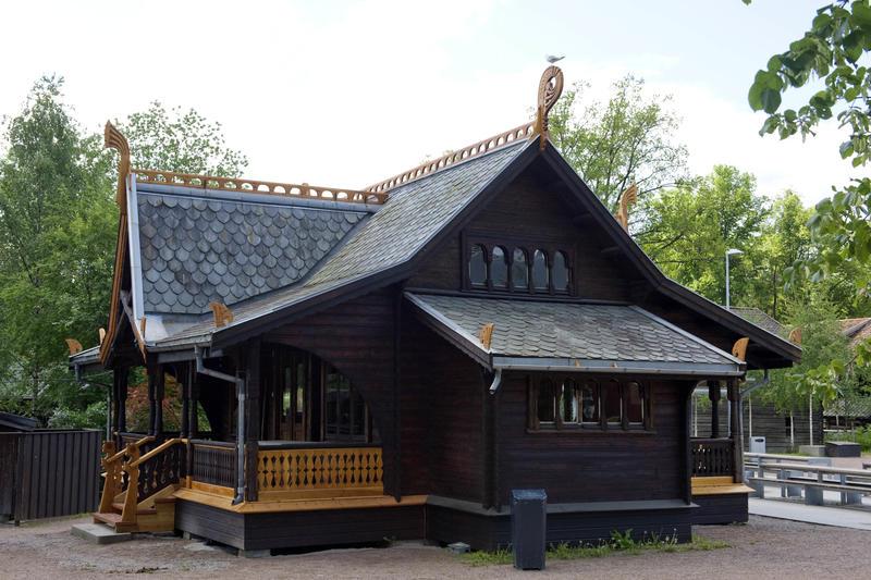 Ventehall fra Piperviken (Foto/Photo)