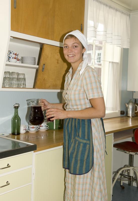 På kjøkkenet i Stiklestadlåna