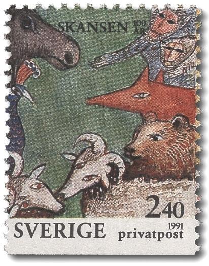 Djur på Skansen