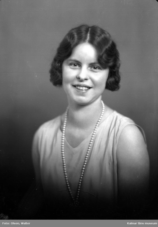 Porträtt av en kvinna från Kalmar.