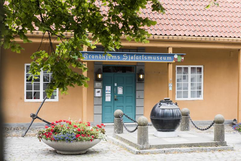 Inngang Trondhjems Sjøfartsmuseum (Foto/Photo)