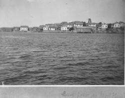 Mollösund sett från sjösidan