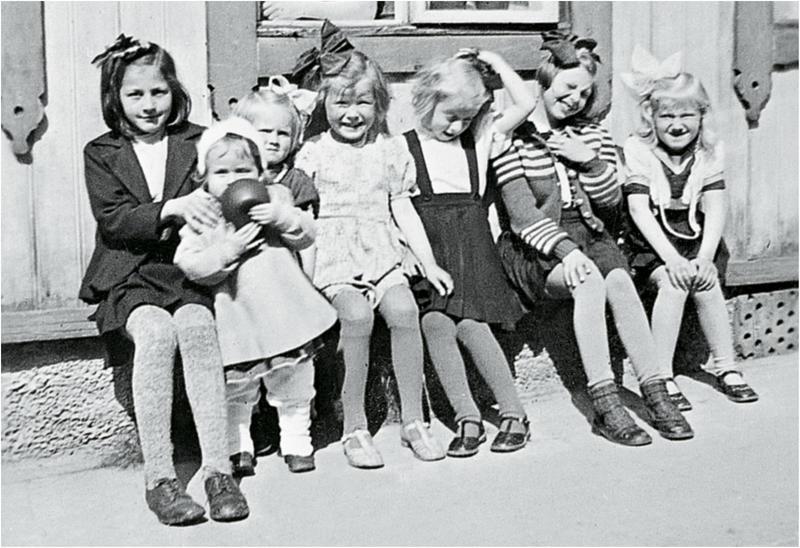 Barn på mollbenk