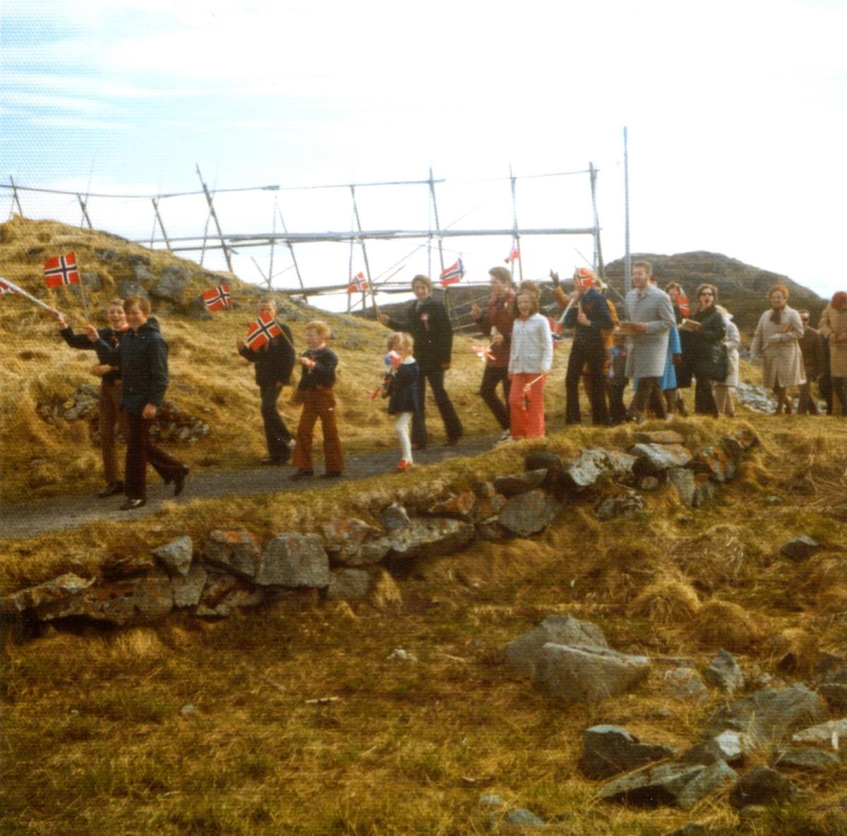 17. maitog på Meløyvær.