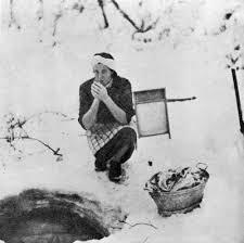 Klesvask vinterstid (Foto/Photo)