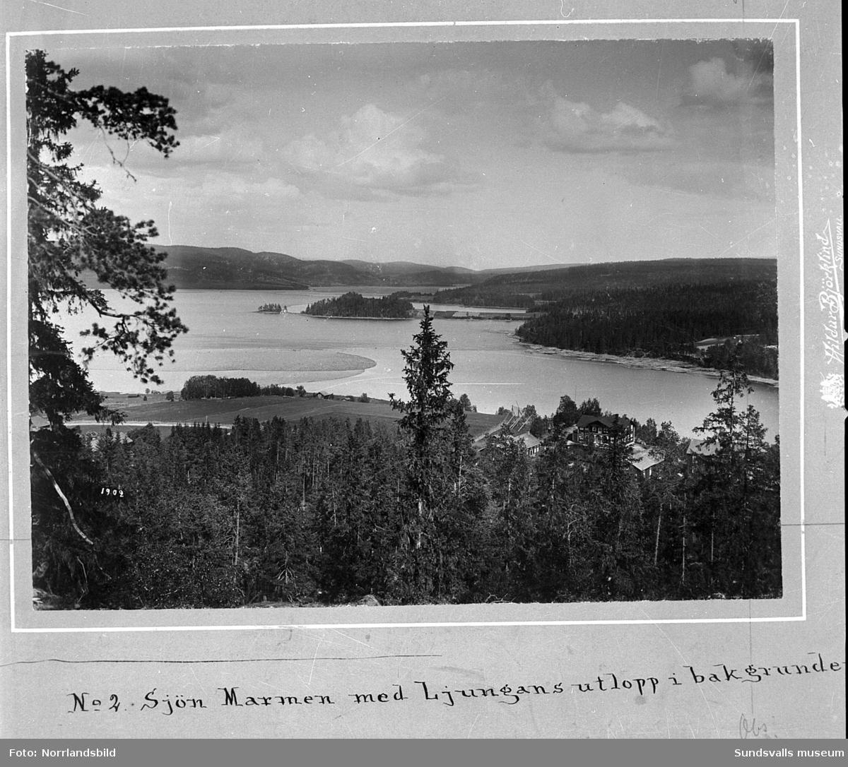 Flygfoton ver Lucksta, Attmar. - Sundsvalls museum