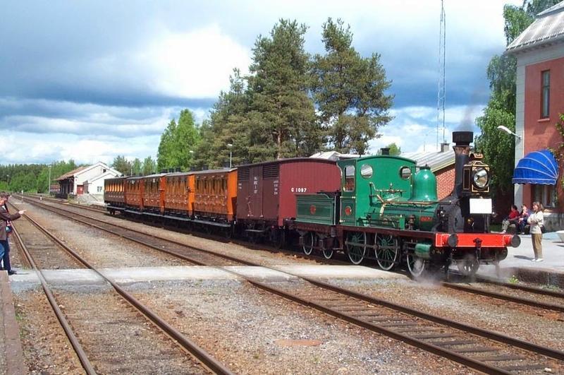 Damplokomotivet Caroline (Foto/Photo)