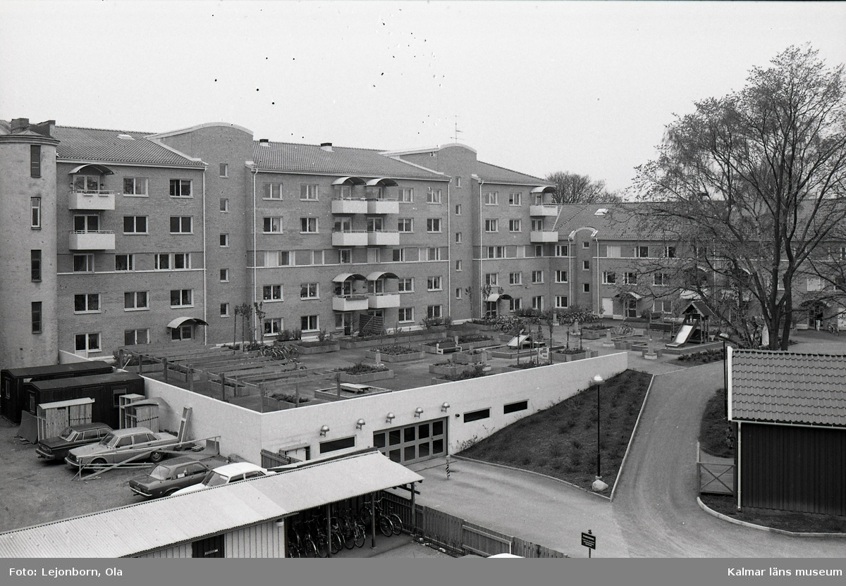 Lägenheter i kvarteret Häggen.