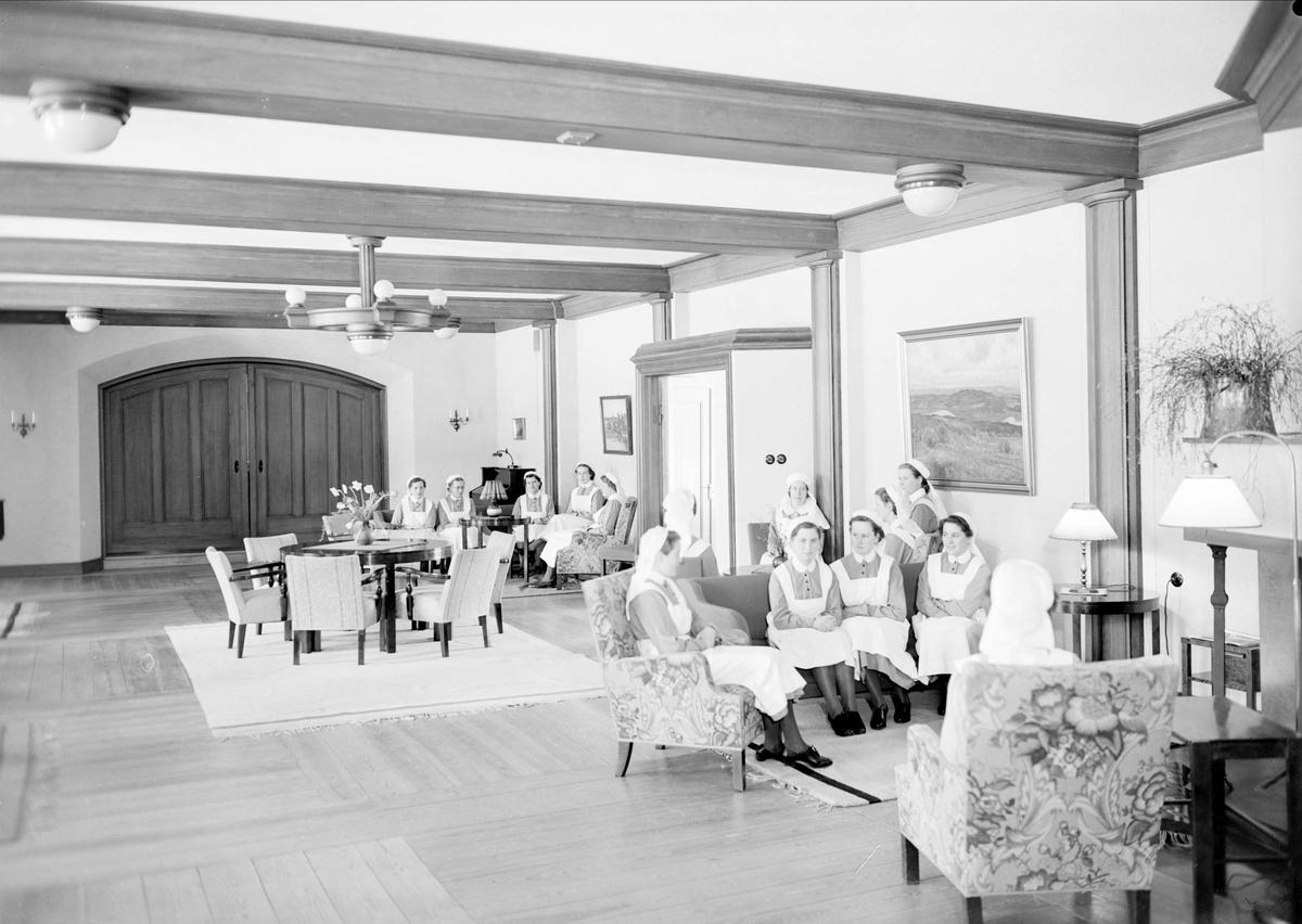 Elevbostad, Samariterhemmet, Uppsala 1940