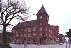 Postkontoret Trelleborg 1, Kontinentgatan 1, april 1999.