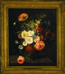 Blomsterstillben [Målning]