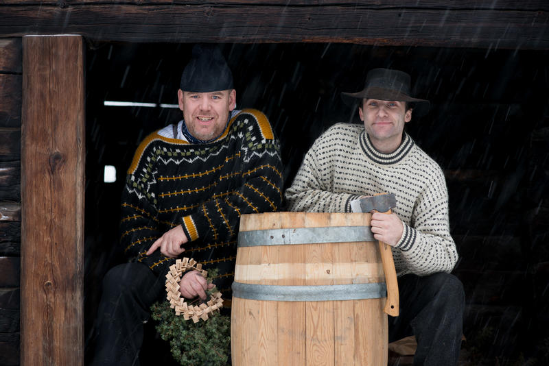 Juleølet er klart i tunet fra Hordaland.