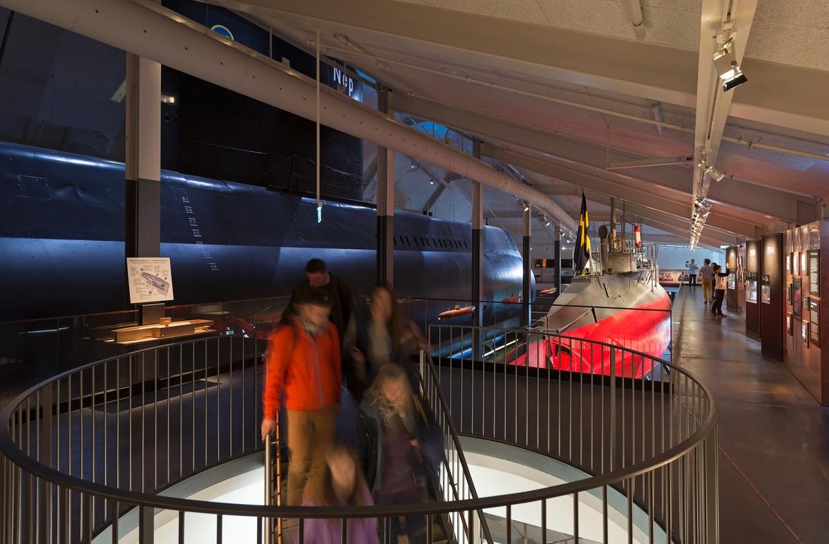 Dokumentation av ubåtshallen.