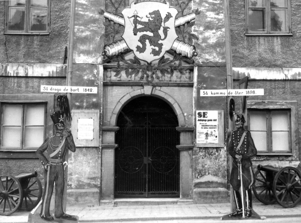 Jubileum 50 års, A 6. Utställningsentrén, gamla rådhuset.