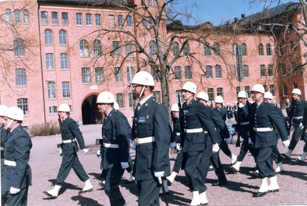 Högvakt, Jönköpings Hemvärn. Träning på A 6.