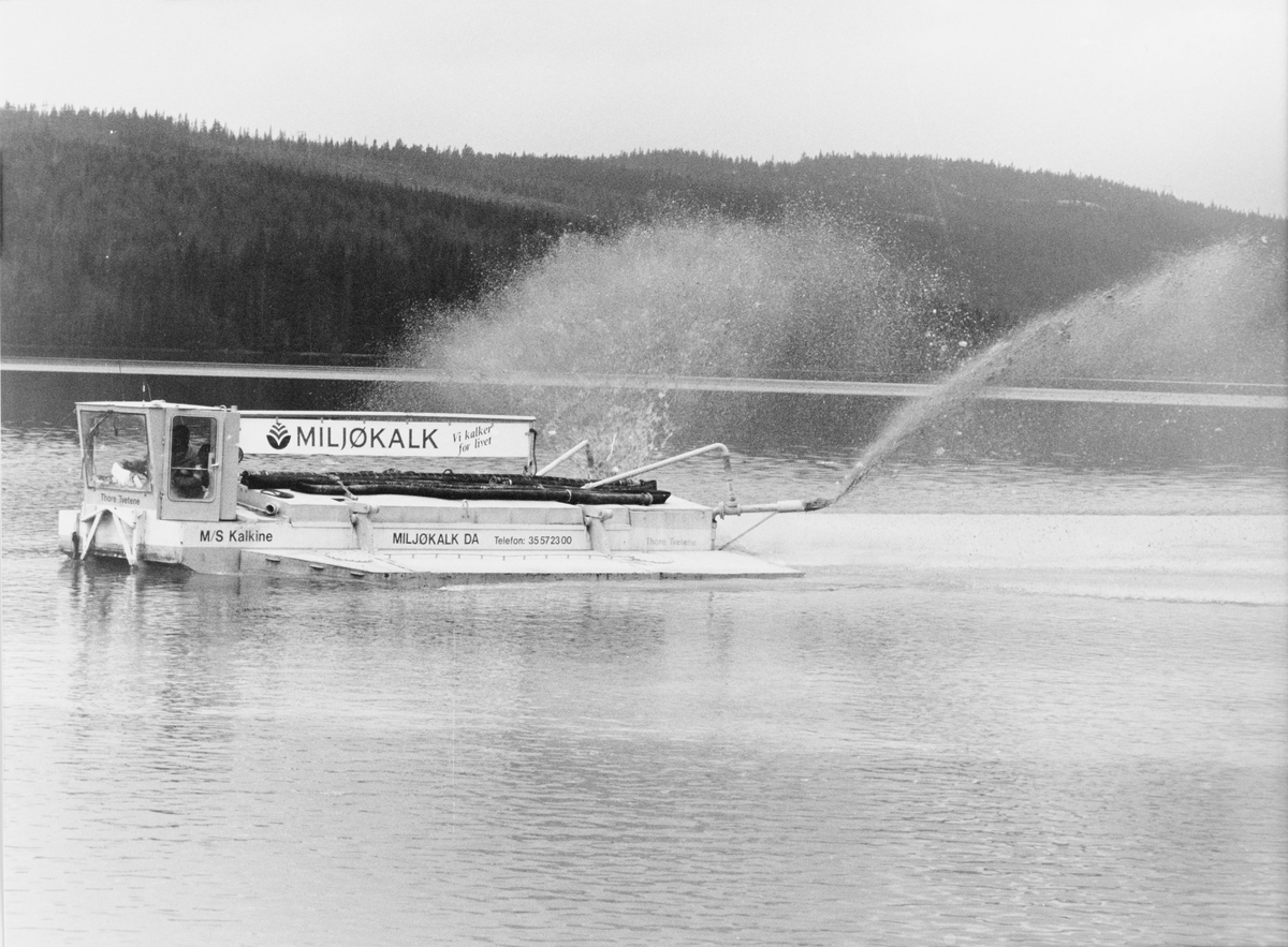 Kalking av fiskevannet Råsjøen