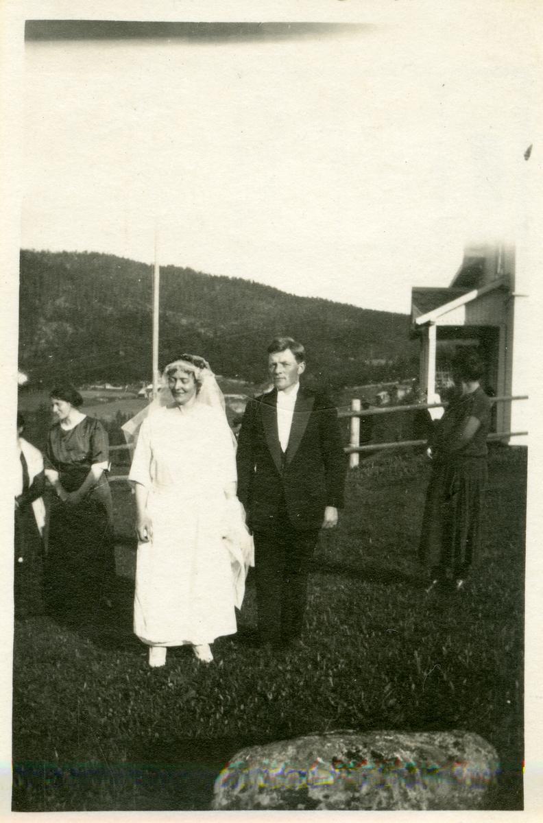 Anne og Olav Lundene.