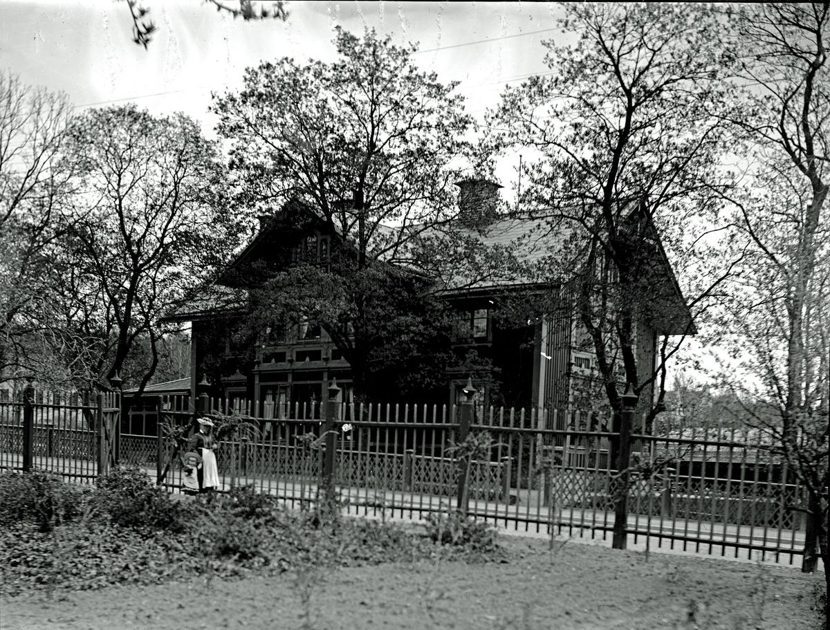 Hallströmska villan. Fotograf okänd.