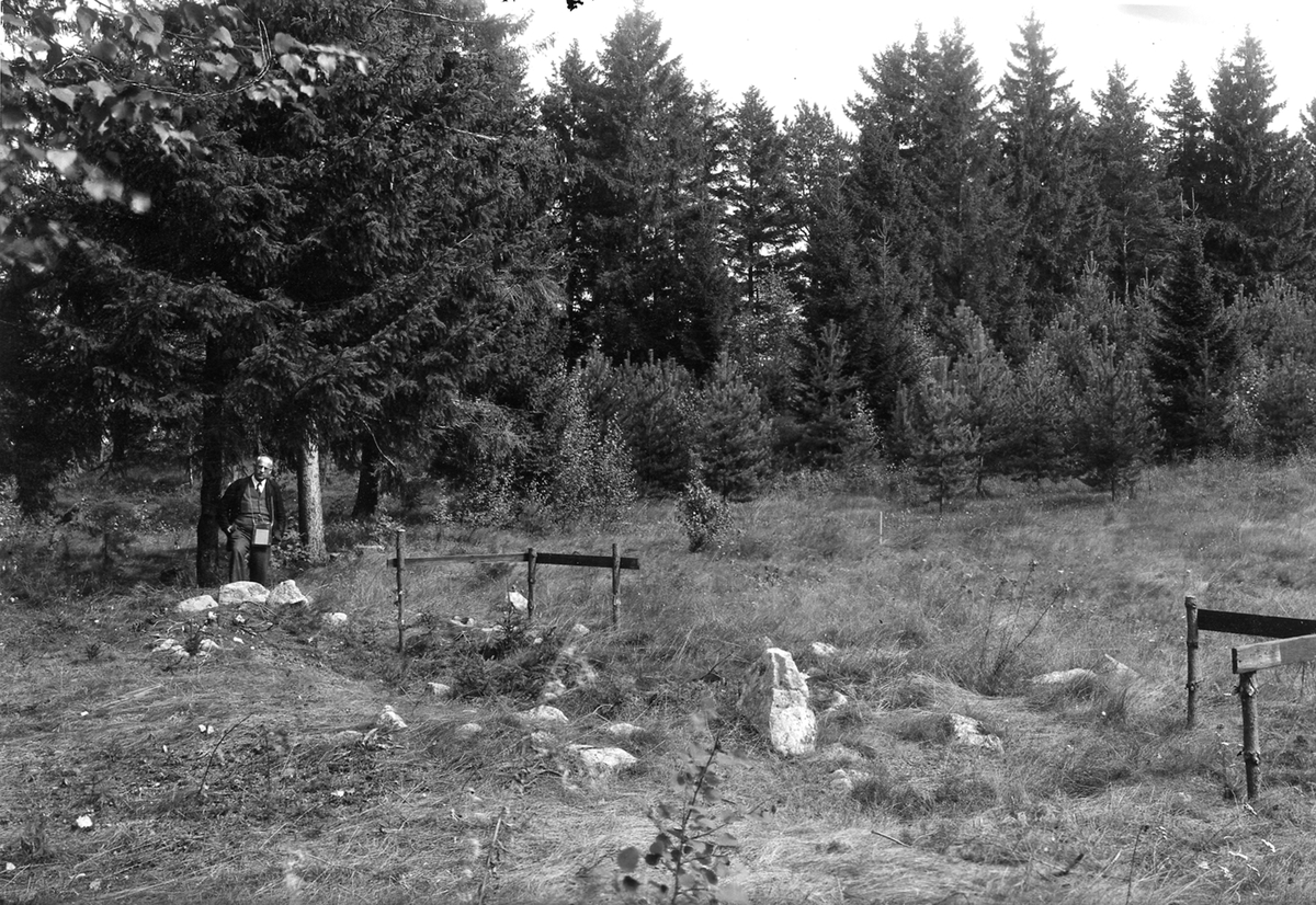 Norsa gravfält, 1945