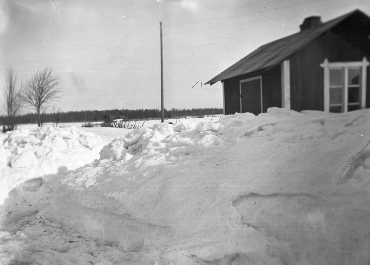 Vinter. Tidsomfånget är 1900 - 1940