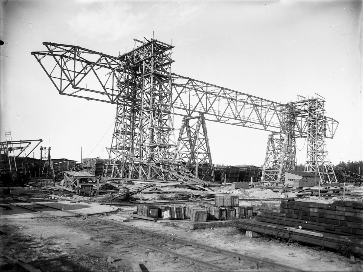 Kopparfors industrier, Norrsundet. Foto den 4 februari 1924.