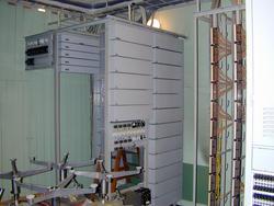 Telefonsentraler. Nødsentralen Åsen interiør 1 (Foto/Photo)