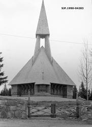 Gravberget kirke i Våler kommune i Hedmark.  Denne kirka ble
