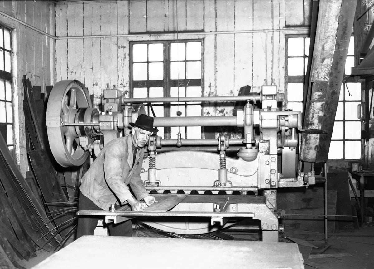 Hagelins kassaskåpsfabrik. 9 maj 1951.