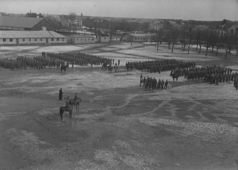 Kungsbäcks Medaljutdelning. I 14. April 1944