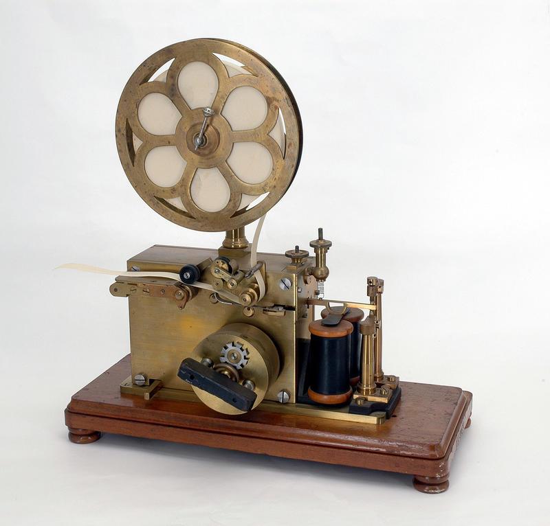 Telegrafstasjoner. Lødingen Morseapparat