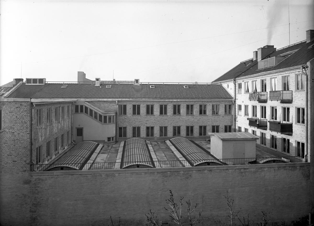 Arbetarbladets fastighet. 1945.