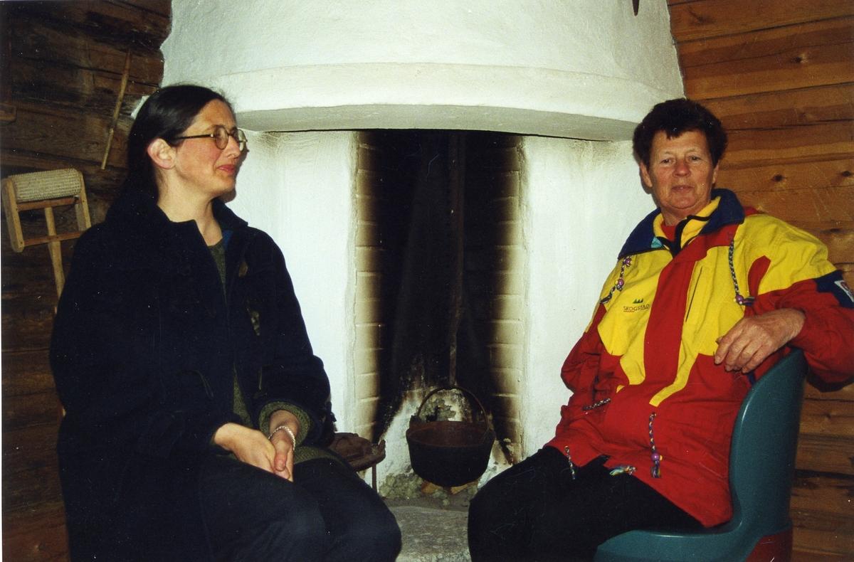 Borghild Telnes og Solveig Nordgarden