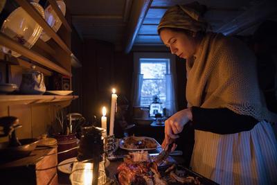 Jul på Enerhaugen på Norsk Folkemuseum