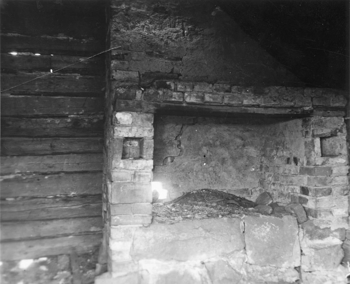 Härd i Smedja vid Holma by,Björskog 1937.