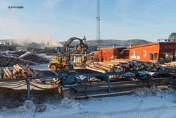 Tømmermålingsanlegget ved sagbruksbedriften Moelven Våler AS